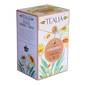 Ceai organic chamomile  20 pl TEALIA