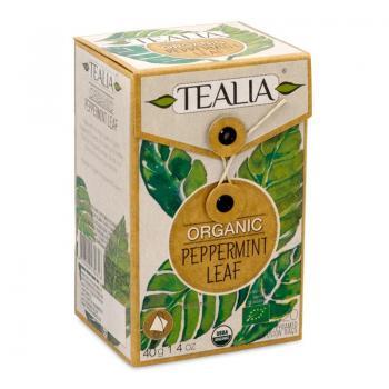 Ceai organic peppermint 20 pl TEALIA