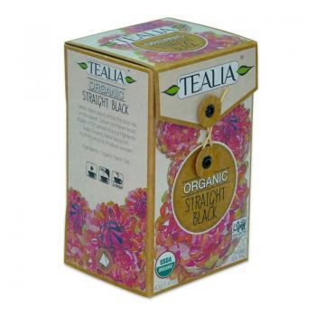 Ceai organic straight black  20 pl TEALIA