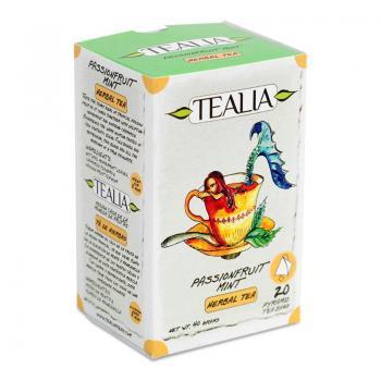 Ceai passionfruit and mint  20 pl TEALIA