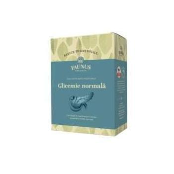 Ceai pentru afectiuni diabetice-glicemie normala 180 gr FAUNUS PLANT