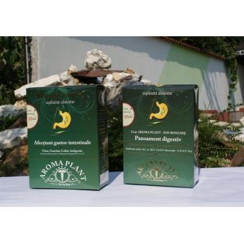 Ceai pentru afectiuni digestive, gastro-intestinal 350 gr AROMA PLANT