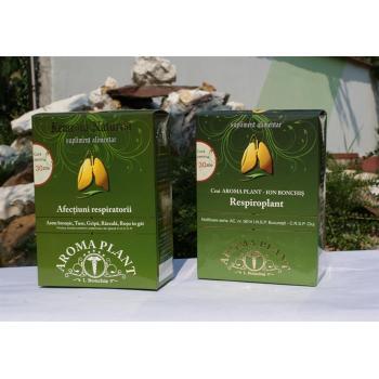 Ceai pentru afectiuni respiratorii, tuse, gripa 350 gr AROMA PLANT
