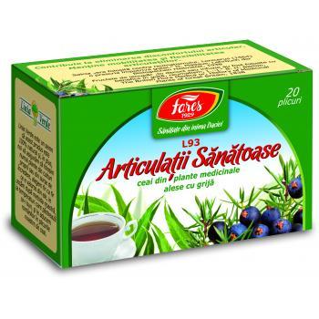 Ceai pentru articulatii sanatoase 20 pl FARES