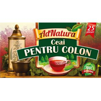 Ceai pentru colon 25 pl ADNATURA
