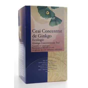 Ceai pentru concentrare- ginkgo 20 pl SONNENTOR