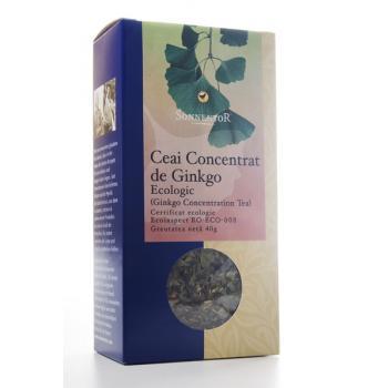 Ceai pentru concentrare- ginkgo 50 gr SONNENTOR