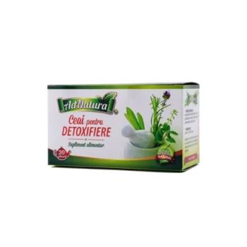 Ceai pentru detoxifiere  20 pl ADNATURA