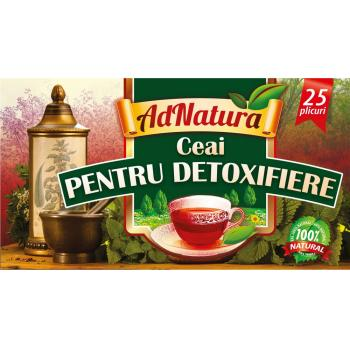 Ceai pentru detoxifiere 25 pl ADNATURA