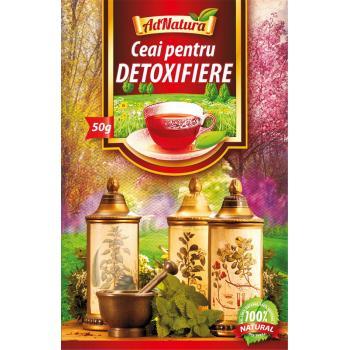 Ceai pentru detoxifiere 50 gr ADNATURA