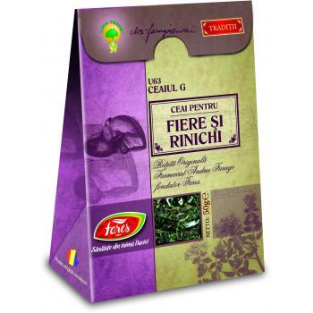 Ceai pentru fiere si rinichi u63 ceaiul g 50 gr FARES