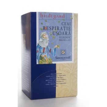 Ceai pentru respiratie usoara hildegard 18 pl SONNENTOR