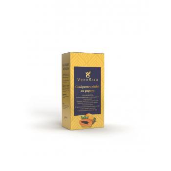 Ceai pentru slabit cu papaya 60 gr VEROSLIM