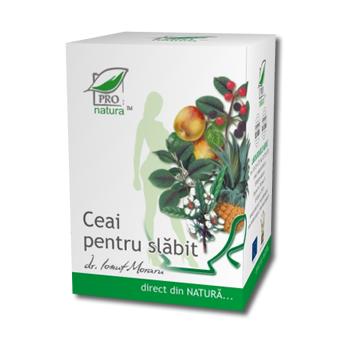 Ceai pentru slabit 20 pl PRO NATURA