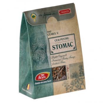 Ceai pentru stomac d42 ceaiul u 50 gr FARES