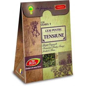 Ceai pentru tensiune c26 ceaiul t 50 gr FARES
