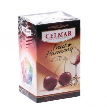Ceai premium cu visine si rom 20 pl CELMAR