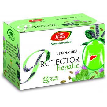 Ceai protector hepatic 20 pl FARES