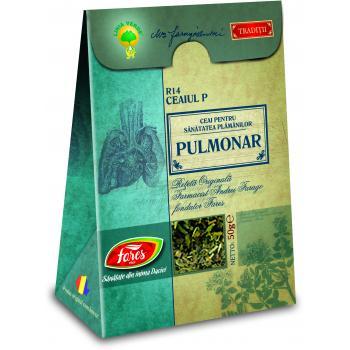 Ceai pulmonar r14 ceaiul p 50 gr FARES