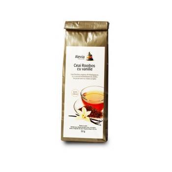 Ceai rooibos cu vanilie 50 gr ALEVIA