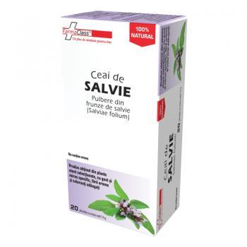 Ceai salvie 20 pl FARMACLASS