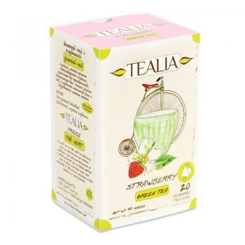 Ceai strawberry 20 pl TEALIA