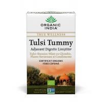 Ceai tulsi (busuioc sfant) tummy-digestiv cu ghimbir
