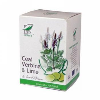 Ceai din verbina & lime 20 pl PRO NATURA