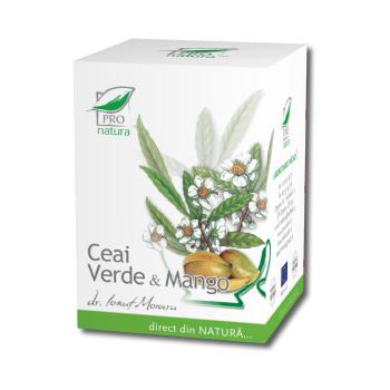 Ceai verde & mango 20 pl PRO NATURA