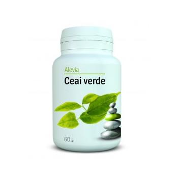 Ceai verde 60 cpr ALEVIA