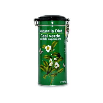 Ceai verde chinezesc de calitate superioara 100 gr NATURALIA DIET