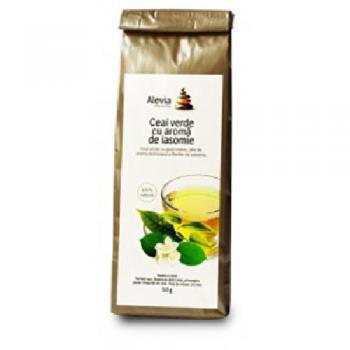 Ceai verde cu aroma de iasomie 50 gr L&L PLANT