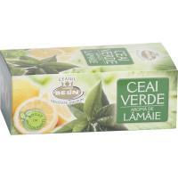 Ceai verde cu aroma de lamaie