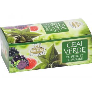 Ceai verde cu fructe de padure 20 pl BELIN