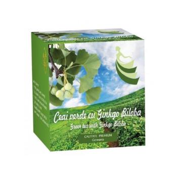 Ceai verde cu ginkgo biloba  20 pl BIS NIS