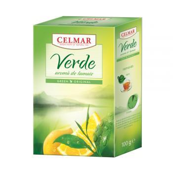 Ceai verde cu lamaie 100 gr CELMAR