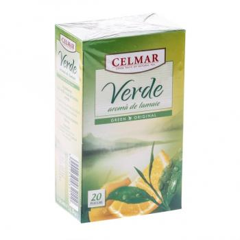 Ceai verde cu lamaie 20 pl CELMAR