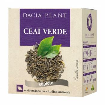 Ceai verde 50 gr DACIA PLANT