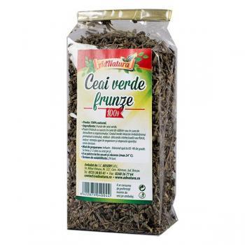 Ceai verde frunze 100 gr ADNATURA