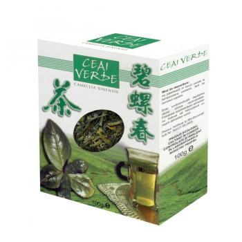 Ceai verde frunze 100 gr PARAPHARM