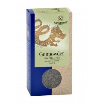 Ceai verde gunpowder 100 gr SONNENTOR