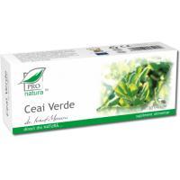 Ceai verde 30cps PRO NATURA