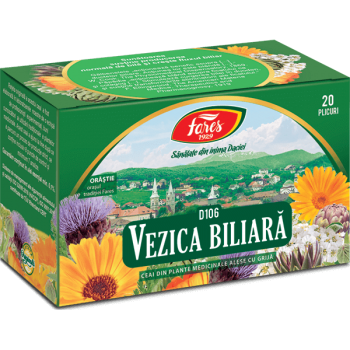 Ceai vezica biliara 20 pl FARES