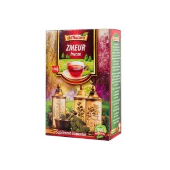 Ceai zmeur frunze 50 gr ADNATURA
