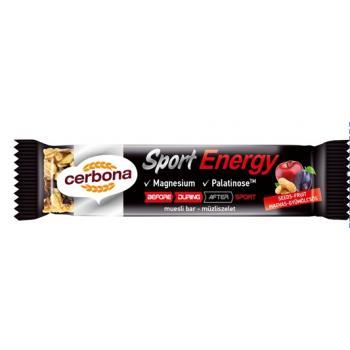 Cerbona sport energy-baton musli energizant cu fructe si seminte 35 gr CERBONA
