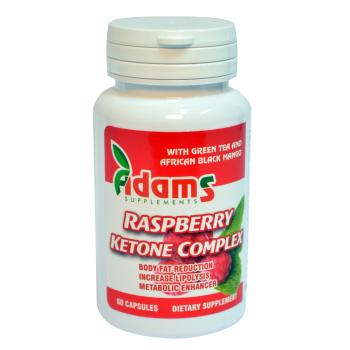 Cetona de zmeura (raspberry ketone complex) 60 cps ADAMS SUPPLEMENTS