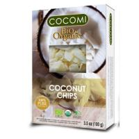 Chips din nuca de cocos (raw) bio