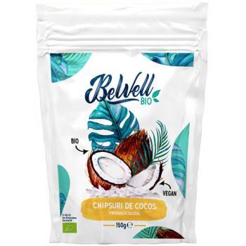 Chipsuri de cocos bio 150 gr BEWELL BIO