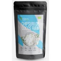 Chipsuri de cocos raw ecologice