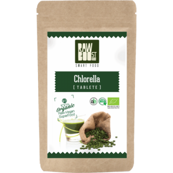 Chlorella tablete eco 250 tbl RAWBOOST